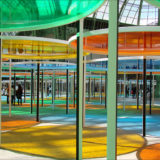 Daniel Buren, Monumenta 2012, Grand Palais, Paris, France, May 16, 2012 | © Courtesy of Jean-Pierre Dalbéra/Flickr.