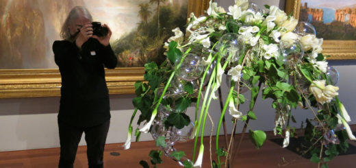 """ON NOW -- """"bouquets to art"""" @ the de young museum, Scott Richard, San Francisco, USA, March 14, 2017 
