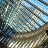 VPL Glass Roof (Again), Vancouver Public Library, Vancouver, British Columbia, Canada, March 12, 2006 | © Courtesy of Imran Ali/Flickr.